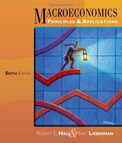 e-Study Guide for: Macroeconomics: Principles and Applications by Robert E. Hall, ISBN 9781111822354