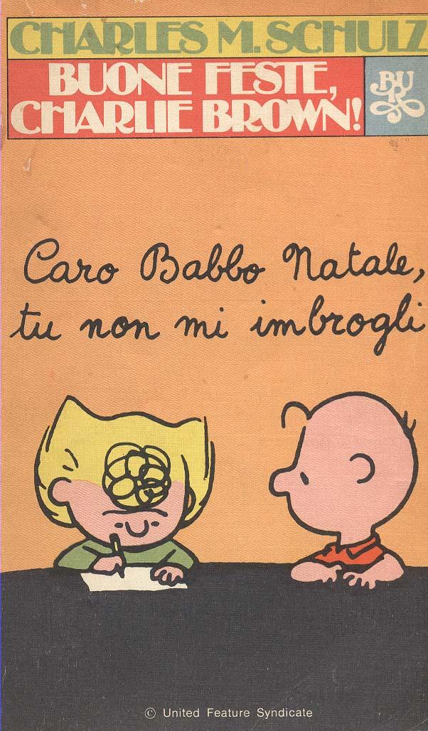 Buone feste Charlie Brown