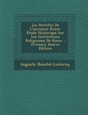 Les Pontifes de L'Ancienne Rome