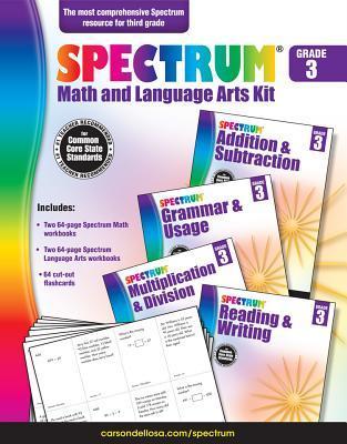 Spectrum Math and Language Arts Kit