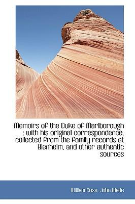 Memoirs of the Duke of Marlborough