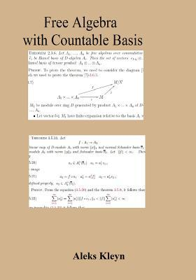 Free Algebra With Countable Basis