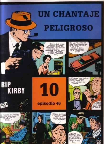 Rip Kirby #46: Un chantaje peligroso