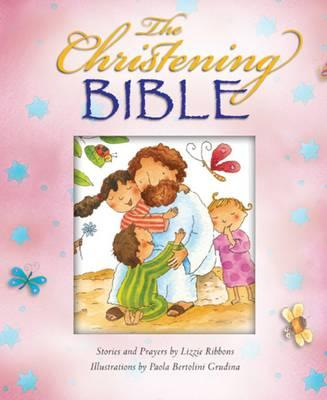 The Christening Bible (Pink)
