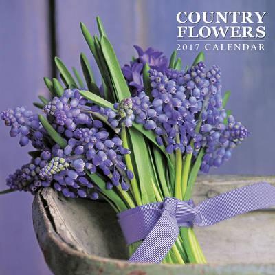 Country Flowers 2017 Calendar