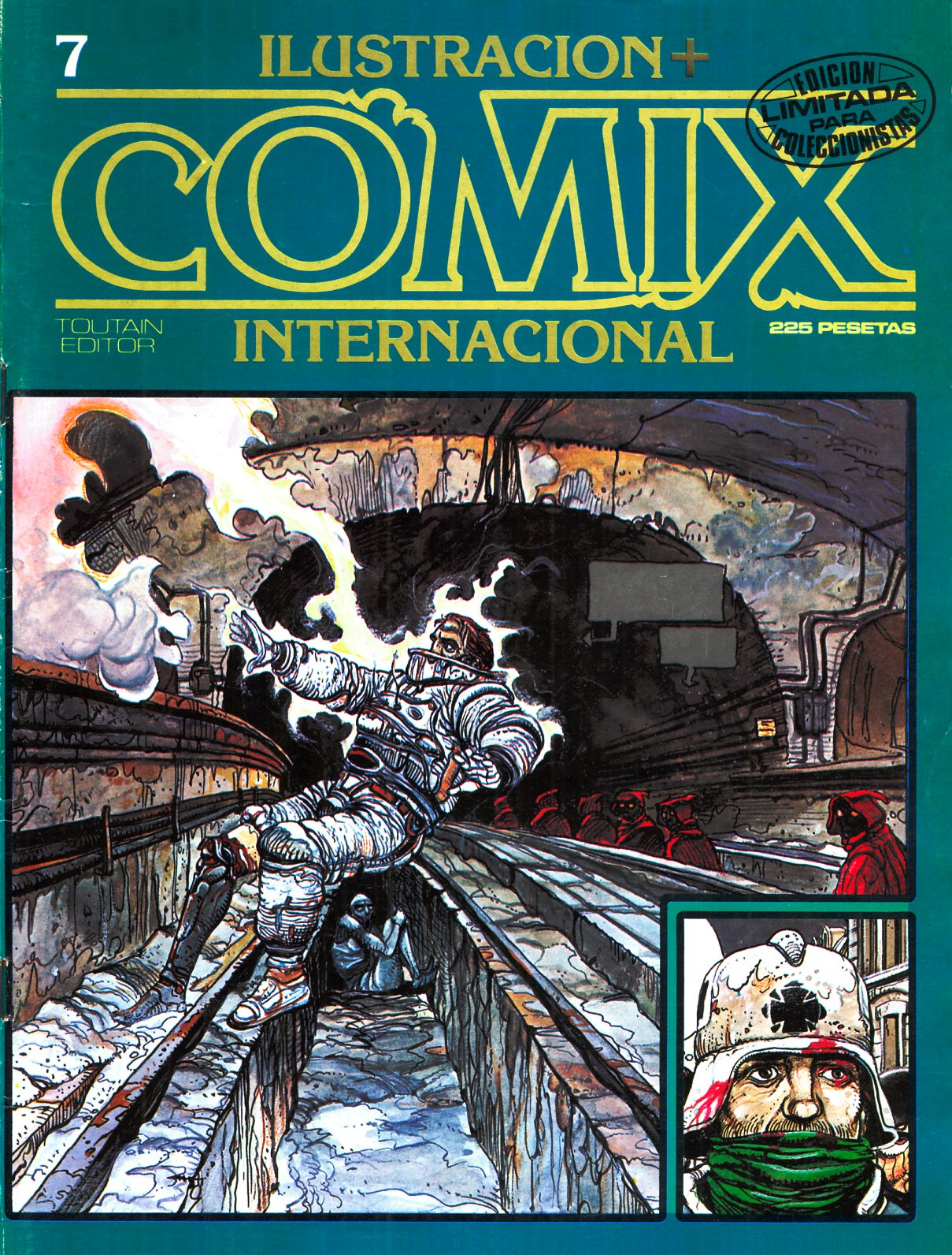 Ilustración + Comix Internacional #7