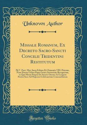 Missale Romanum, Ex ...