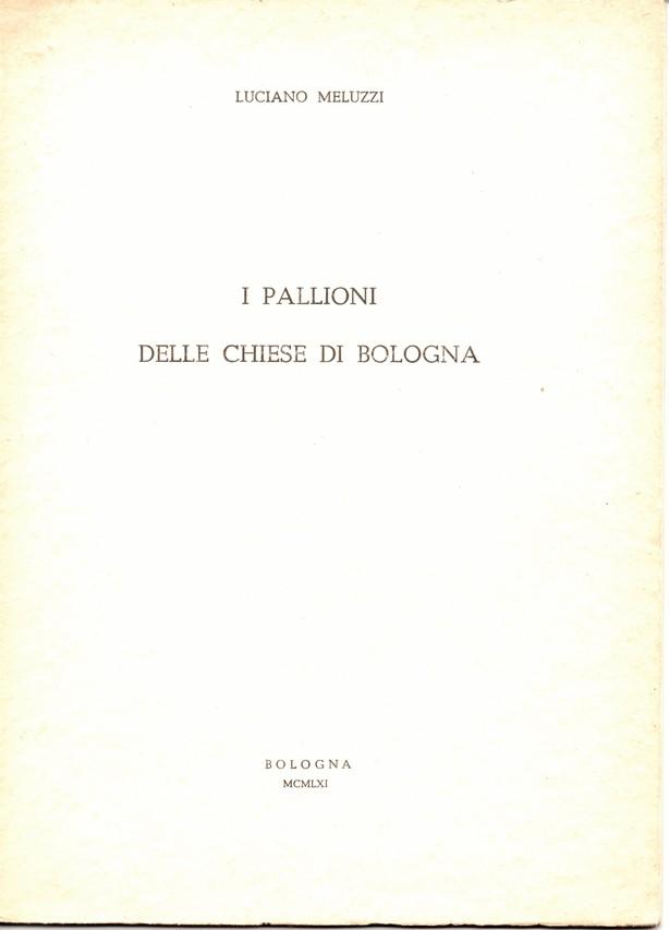 I pallioni delle chiese di Bologna