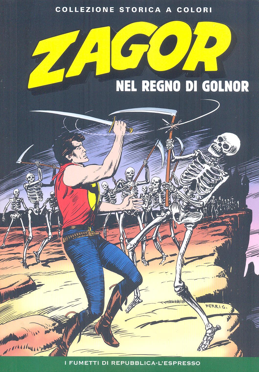 Zagor collezione storica a colori n. 76