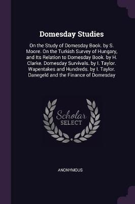 Domesday Studies