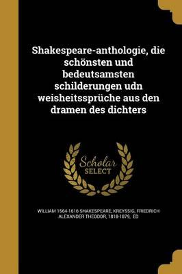 GER-SHAKESPEARE-ANTHOLOGIE DIE