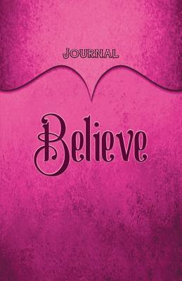 Believe Journal Pink
