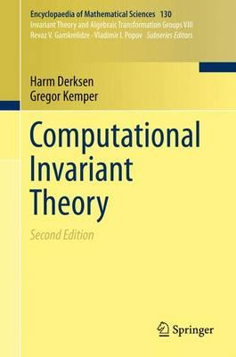 Computational Invariant Theory