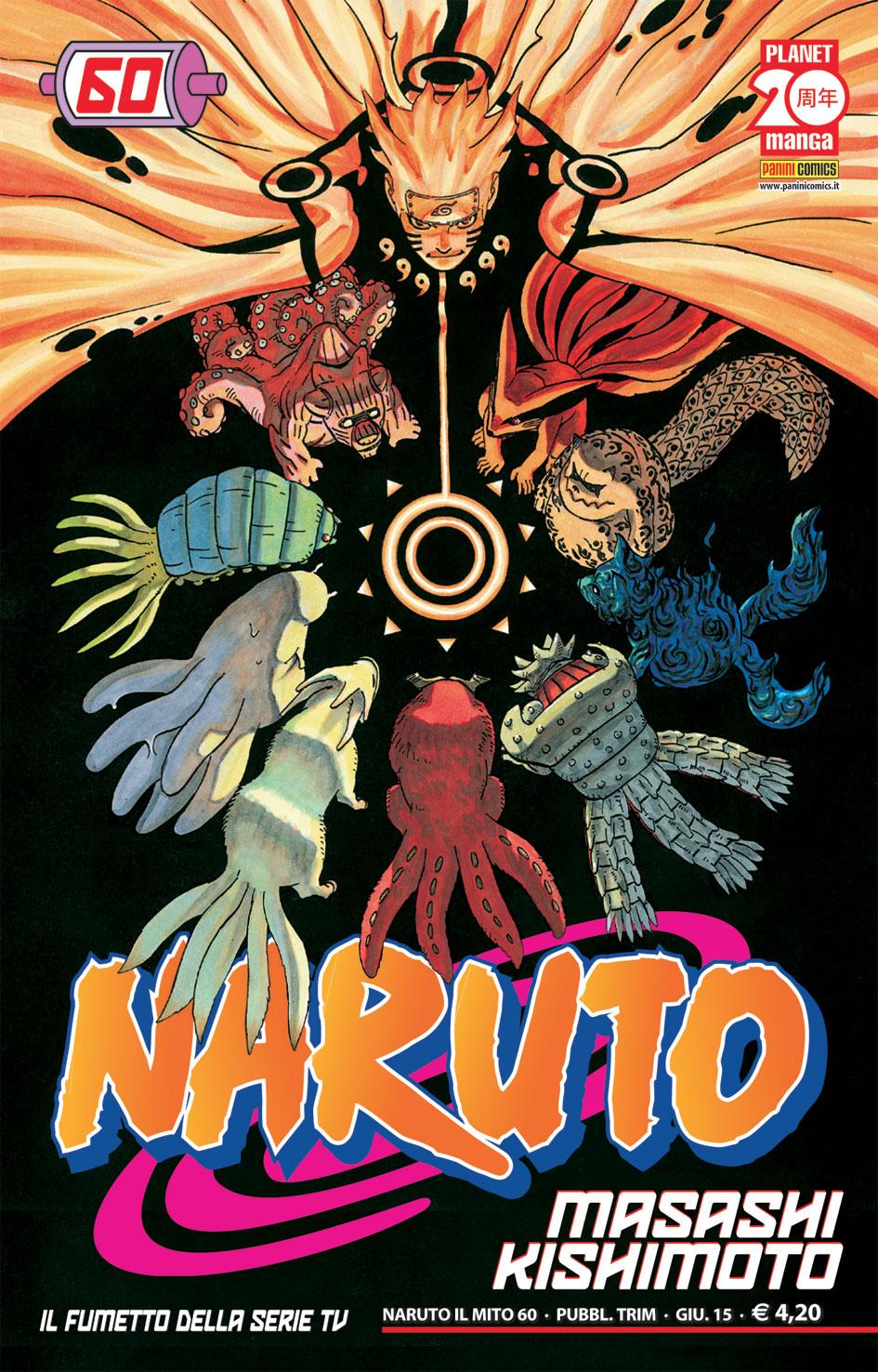 Naruto Il Mito vol. 60