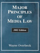 Major Principles of Media Law