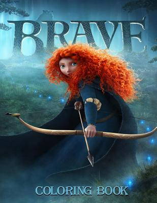 Brave Coloring Book