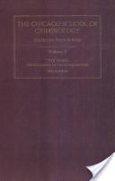 The Chicago School of Criminology 1914-1945: The hobo