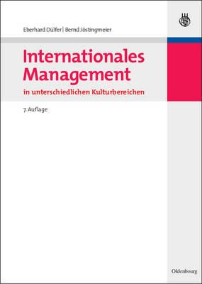 Internationales Management in unterschiedlichen Kulturbereichen