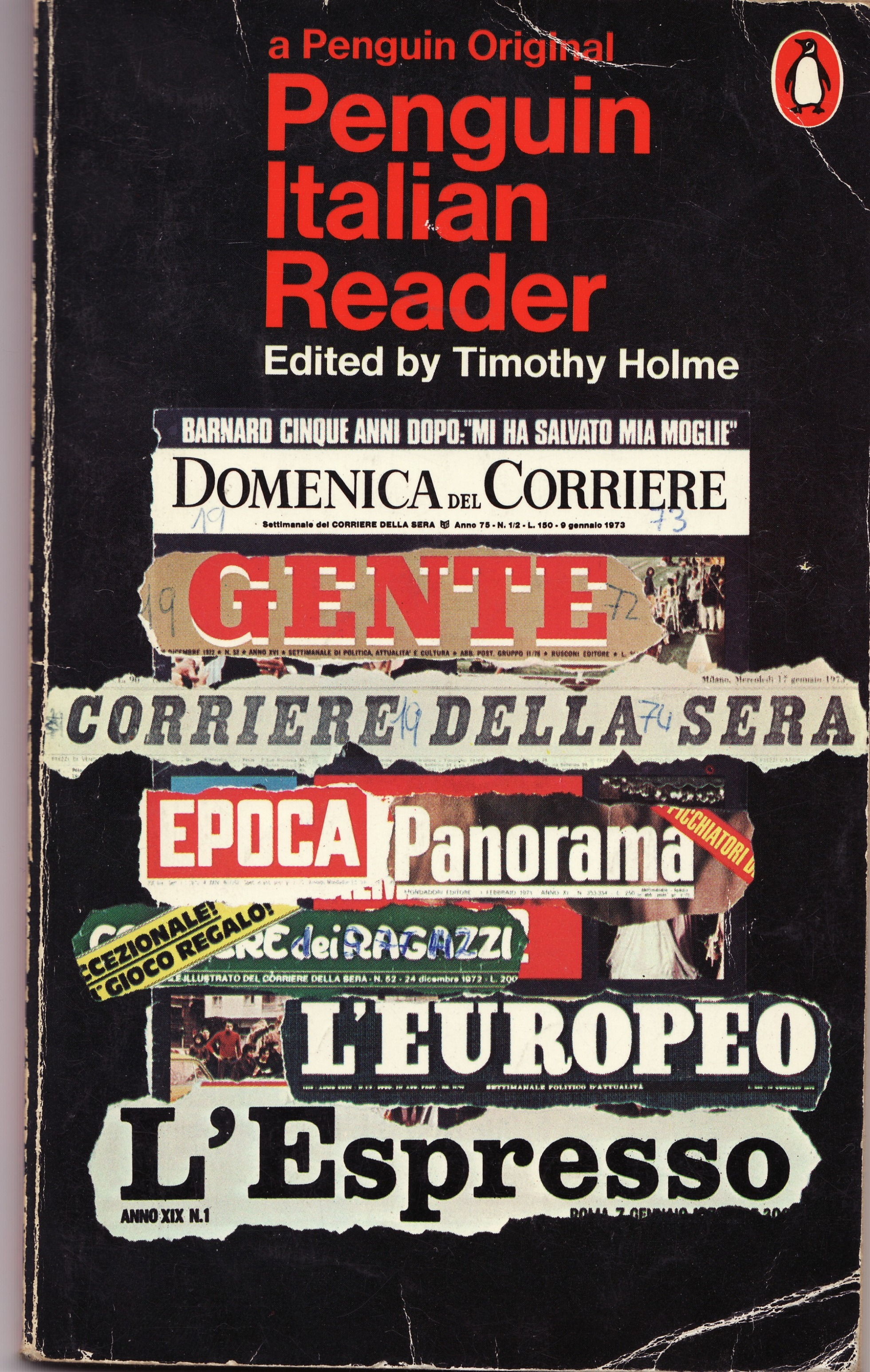 The Penguin Italian Reader