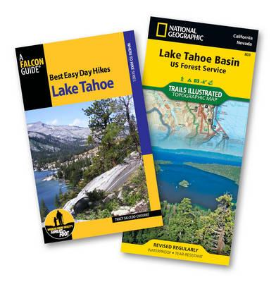 Best Easy Day Hikes Lake Tahoe + Trails Illustrated Topographic Map Lake Tahoe Basin