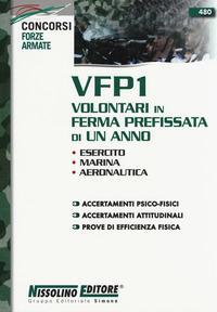 VFP1 Volontari in ferma prefissata di un anno. Esercito, Marina, Aeronautica