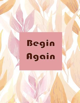 Begin Again Notebook - White