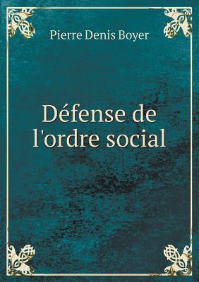 Defense de L'Ordre Social