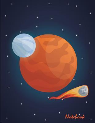 Space Meteor Mars Notebook