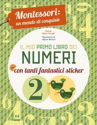 Il mio primo libro dei numeri. Montessori
