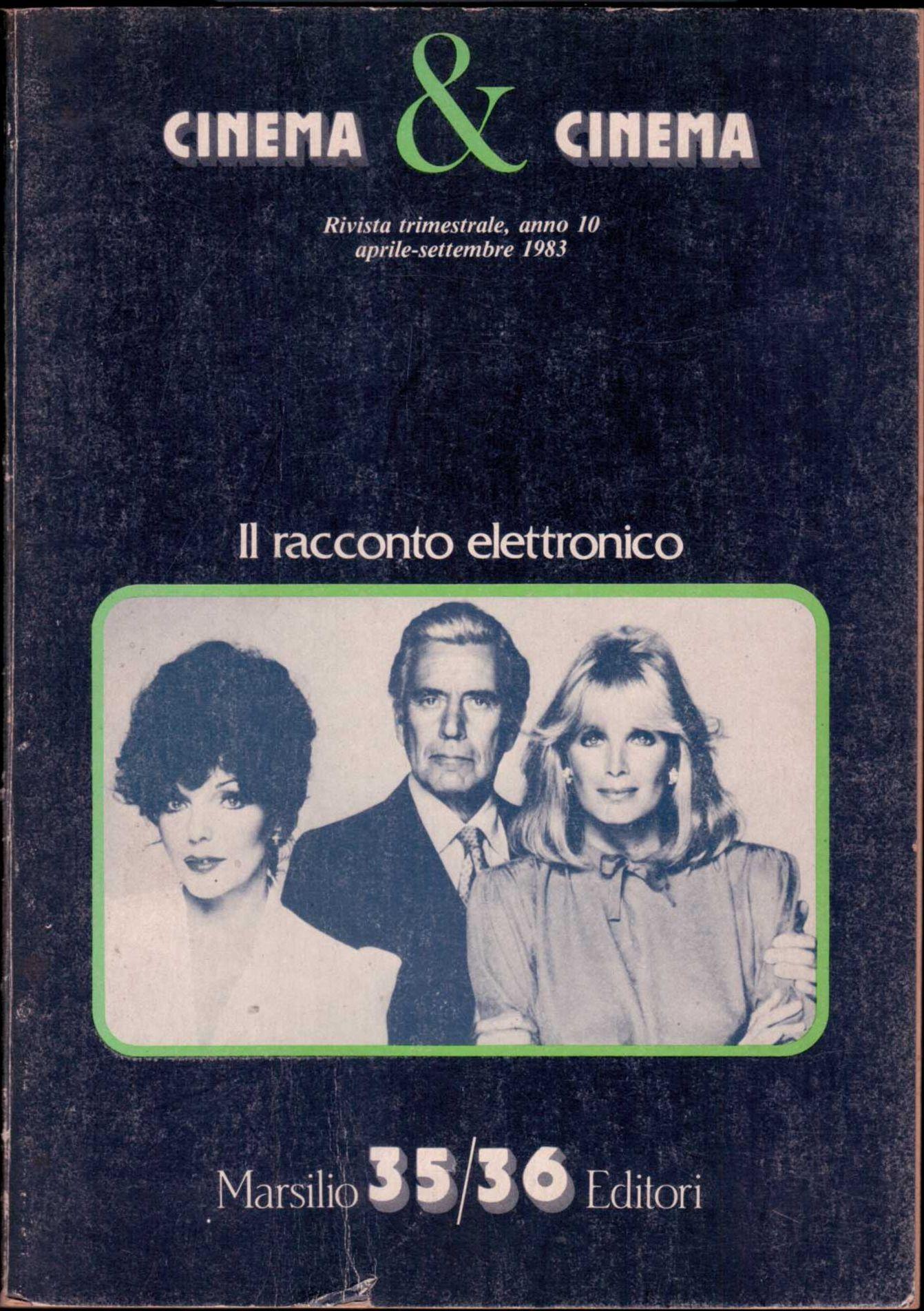 Cinema e cinema, anno 10, n.35-36