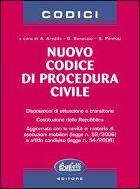 Nuovo codice di procedura civile