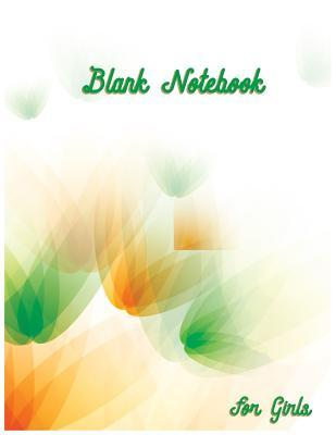 Blank Notebook for Girls