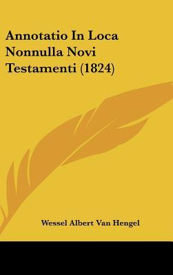 Annotatio in Loca Nonnulla Novi Testamenti (1824)