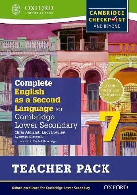 Complete English as a Second Language for Cambridge Lower Secondary Teacher Pack 7 & CD