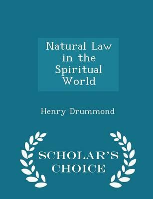 Natural Law in the S...