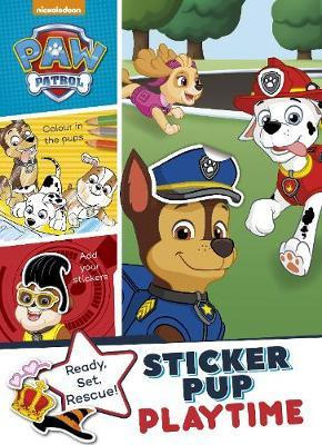 Nickelodeon PAW Patrol Sticker Pup Playtime (Colour Sticker Makeover)