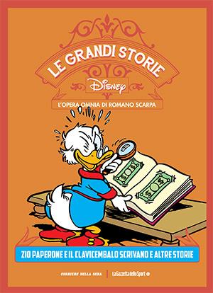 Le grandi storie Disney - L'opera omnia di Romano Scarpa vol. 8