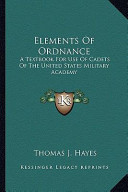 Elements of Ordnance