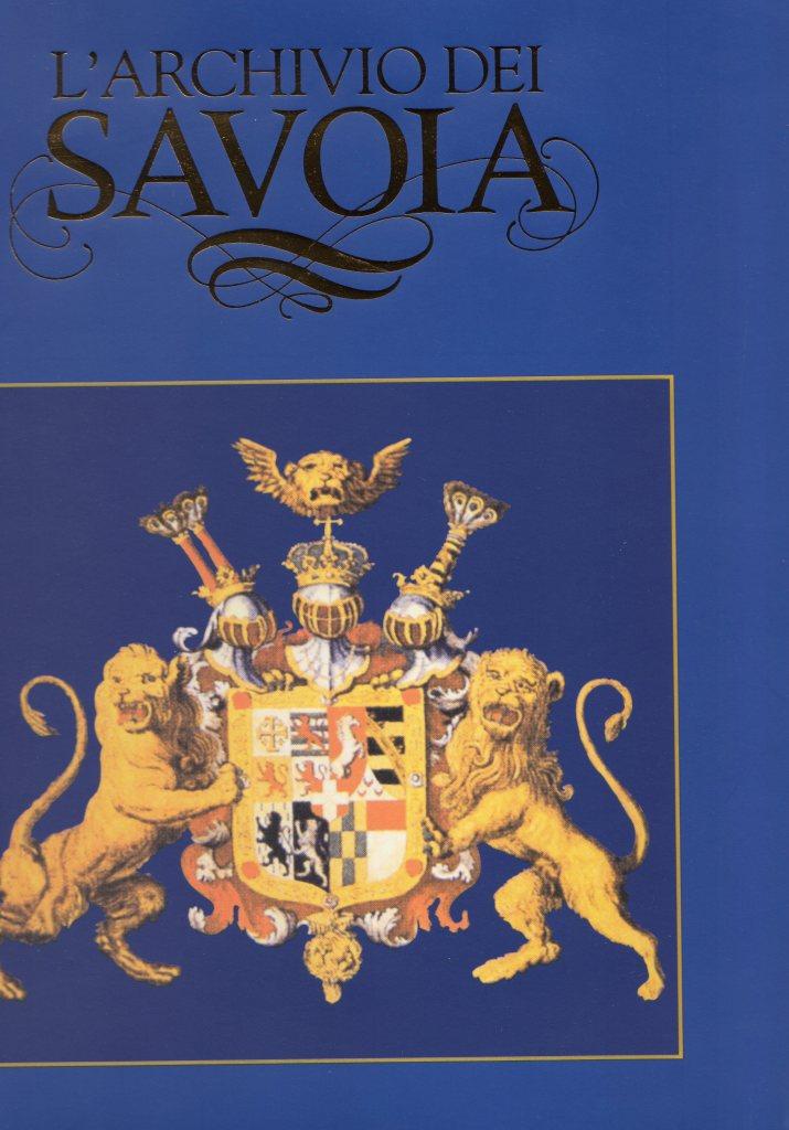 L'archivio dei Savoia