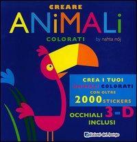 Creare animali colorati. Con gadget