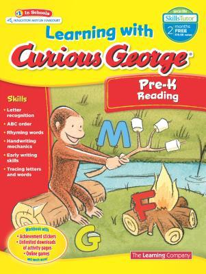 Learning With Curious George Pre-K Reading