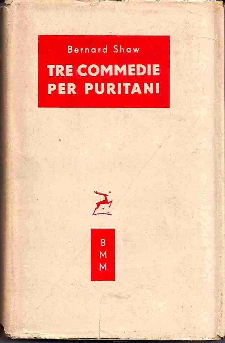 Tre commedie per puritani