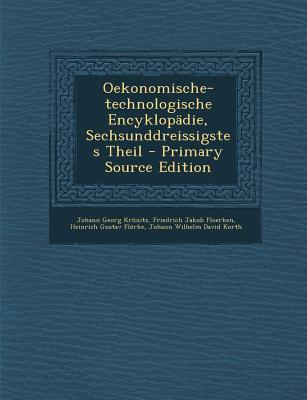 Oekonomische-Technologische Encyklopadie, Sechsunddreissigstes Theil