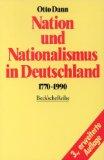 Nation und Nationalismus in Deutschland, 1770-1990
