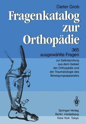 Fragenkatalog Zur Orthopadie
