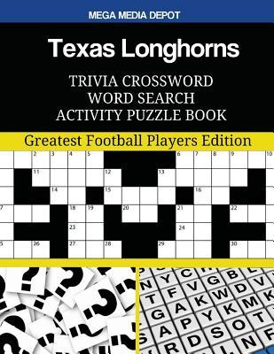 Texas Longhorns Trivia Crossword Word Search Activity Puzzle Book