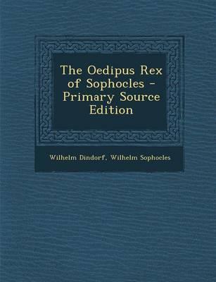 Oedipus Rex of Sopho...