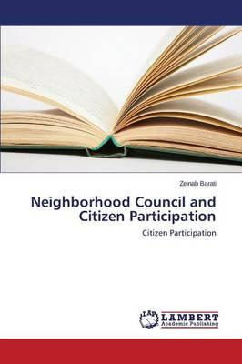 Neighborhood Council and Citizen Participation