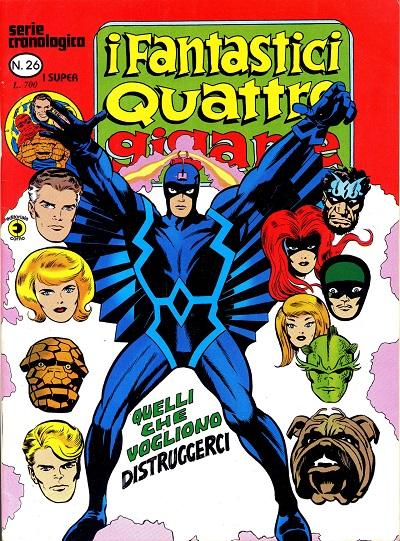 I Fantastici Quattro Gigante n. 26