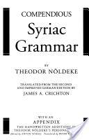 Compendious Syriac g...